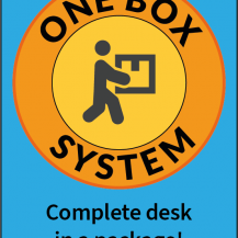 SUN-FLEX®EASYDESK ELITE: One Box System symbol, text EN